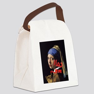 Call me Vermeer Canvas Lunch Bag