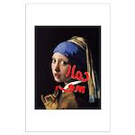 Call me Vermeer Poster