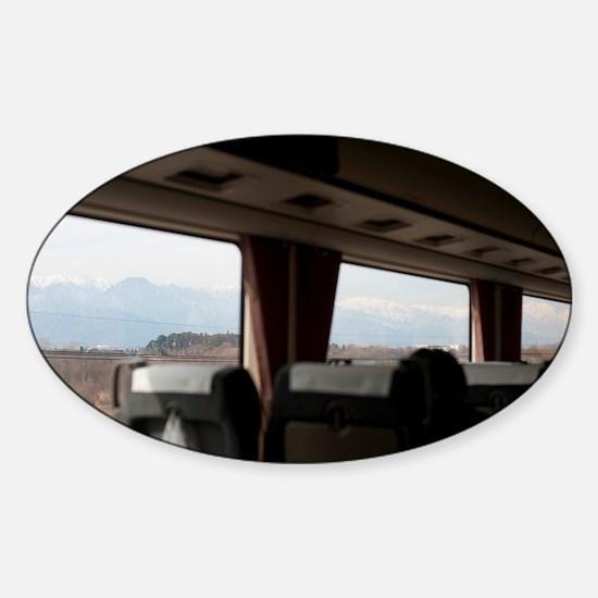 Japan Rail Sticker (Oval)