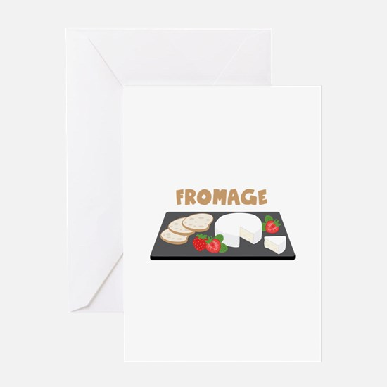 Fromage Greeting Cards