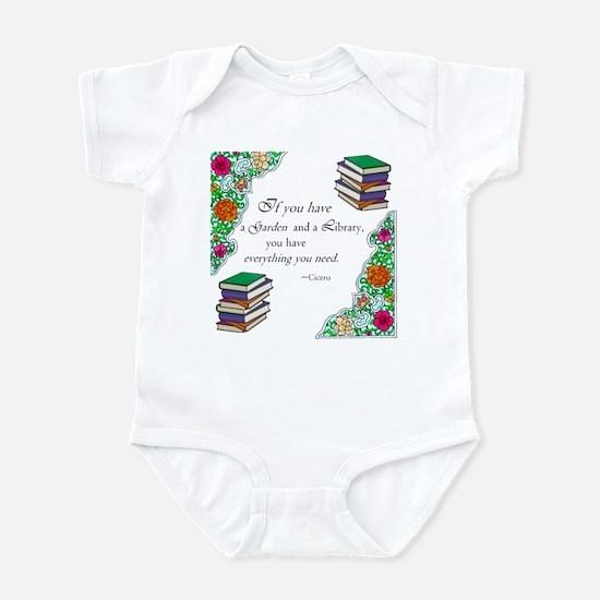 Cicero quote Infant Bodysuit