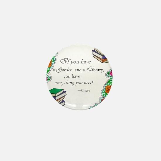 Cicero quote Mini Button