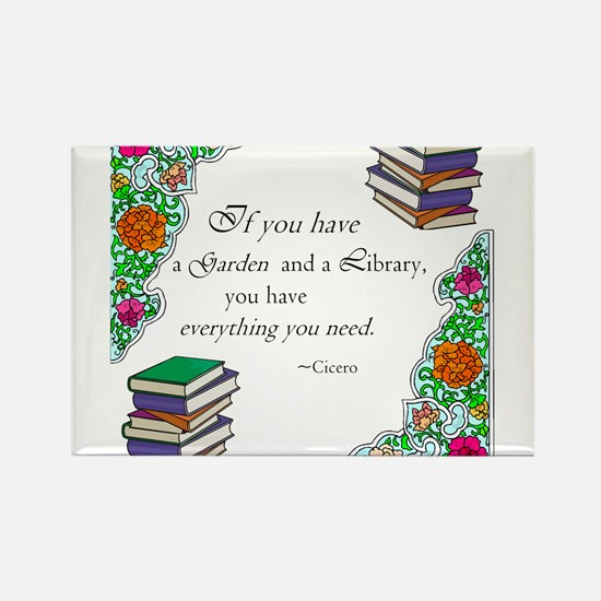 Cicero quote Rectangle Magnet