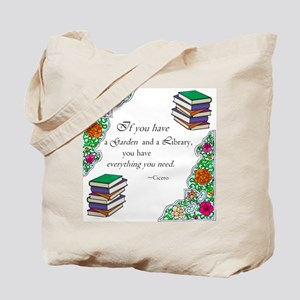 Cicero quote Tote Bag