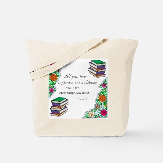 Cicero quote Tote Bag