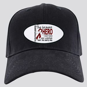 Multiple Myeloma Bravest Hero Black Cap