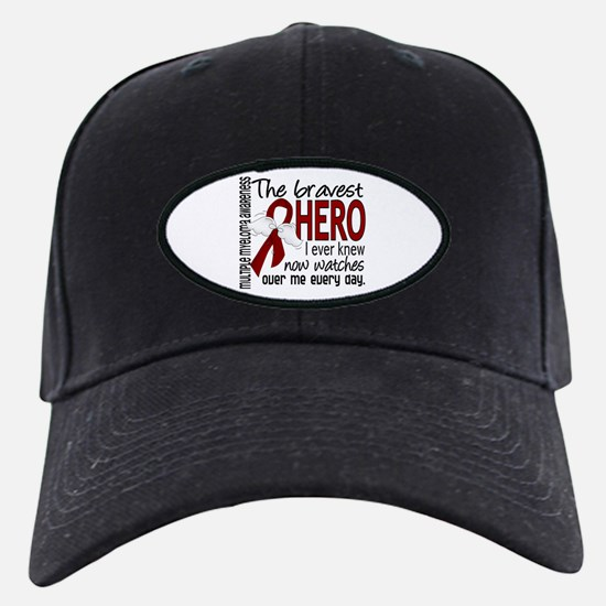 Multiple Myeloma Bravest Hero Baseball Hat