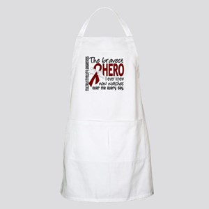 Multiple Myeloma Bravest Hero Apron