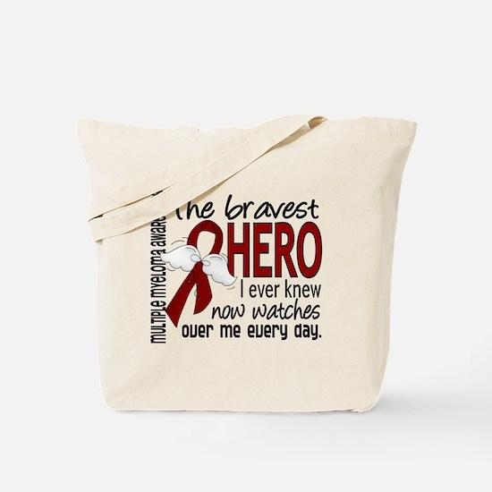 Multiple Myeloma Bravest Hero Tote Bag
