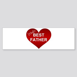 WORLD'S BEST FATHER Bumper Sticker