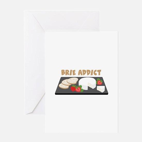 Brie Addict Greeting Cards