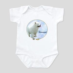 Samoyed Portrait Infant Bodysuit