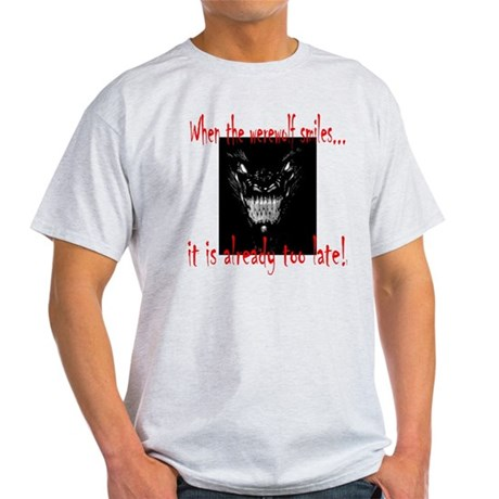 Werewolf Smiles Light T-Shirt