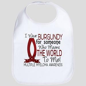 Multiple Myeloma Means World 1 Bib