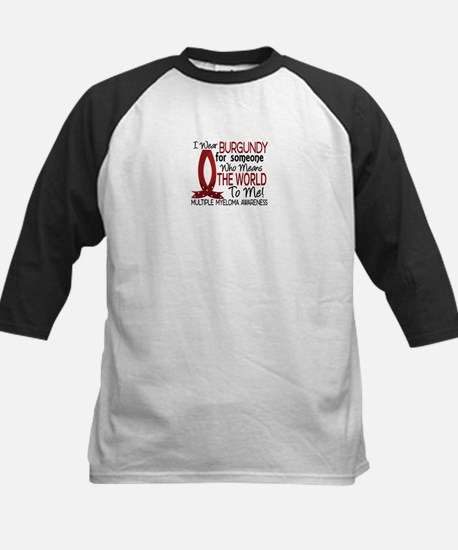 Multiple Myeloma Means World Kids Baseball Jersey