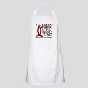 Multiple Myeloma Means World 1 Apron