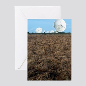 Goonhilly Earth Station Greeting Card