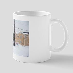 winter hokkaido Mug
