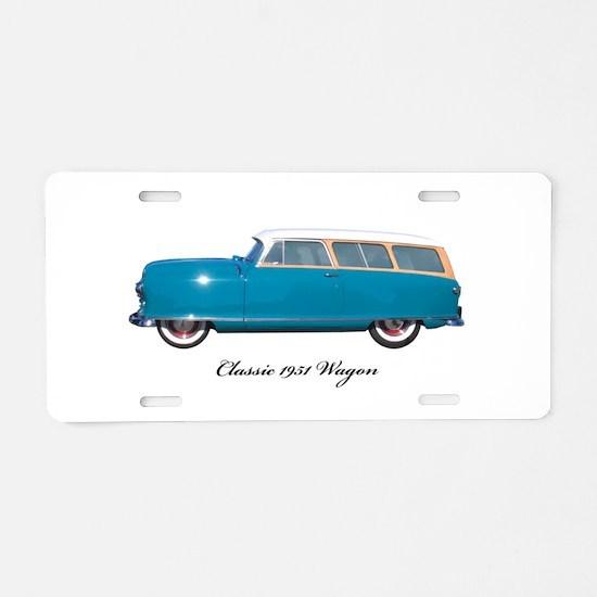 Unique Nash Aluminum License Plate