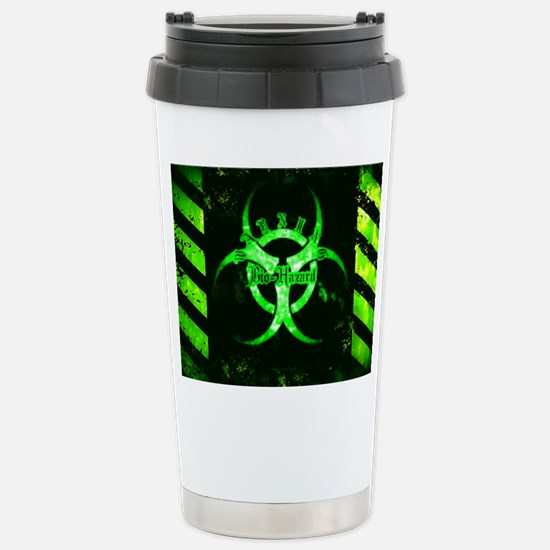 Green Bio-hazard Travel Mug