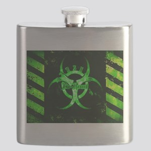 Green Bio-hazard Flask