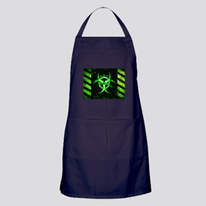 Green Bio-hazard Apron (dark)