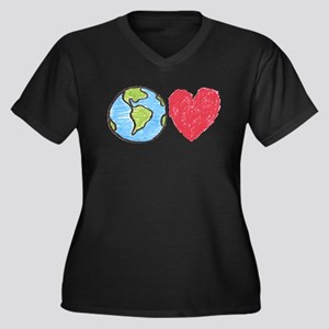 Earth Love Plus Size T-Shirt