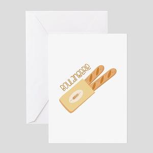 Boulangerie Greeting Cards