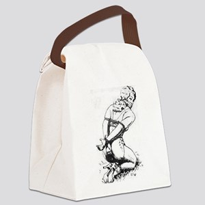 All Tied Up Canvas Lunch Bag