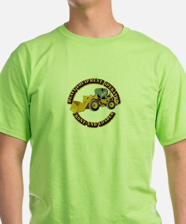 Hvy Equipment Operator - Front End L T-Shirt