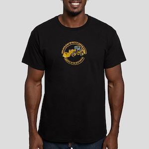 Hvy Equipment Operator Men's Fitted T-Shirt (dark)