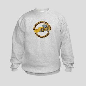 Hvy Equipment Operator - Front End Kids Sweatshirt