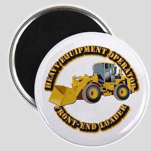 Hvy Equipment Operator - Front End Loader Magnet