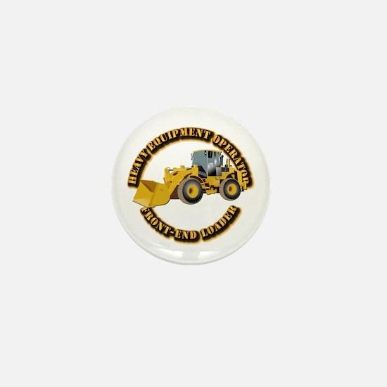 Hvy Equipment Operator - Front End Loa Mini Button