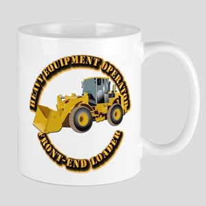 Hvy Equipment Operator - Front End Load Mug