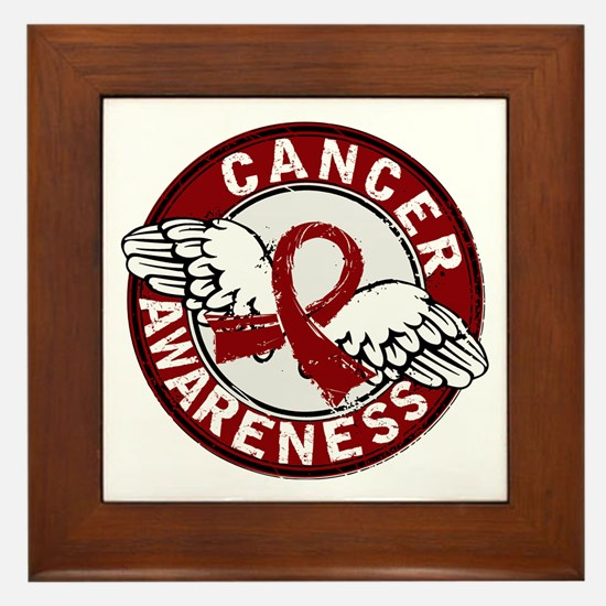 Multiple Myeloma Awareness 14 Framed Tile