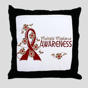 Multiple Myeloma Awareness 6 Throw Pillow