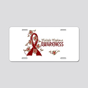 Multiple Myeloma Awareness Aluminum License Plate