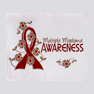 Multiple Myeloma Awareness 6 Throw Blanket