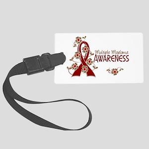 Multiple Myeloma Awareness 6 Large Luggage Tag