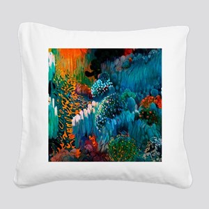 Joaquin Mir Abstract Square Canvas Pillow