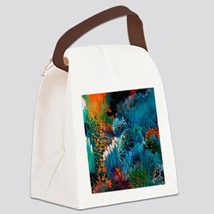 Joaquin Mir Abstract Canvas Lunch Bag