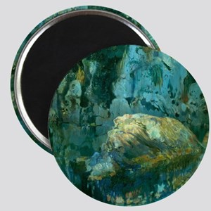 Joaquin Mir The Rock in the Pond Magnet