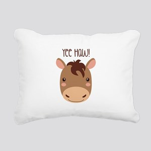Yee Haw! Rectangular Canvas Pillow