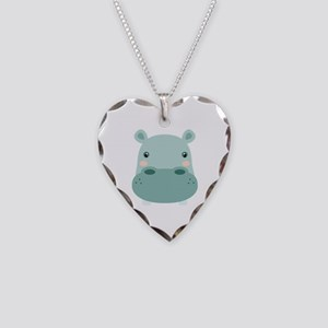 Cute Hippo Necklace