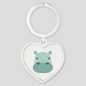 Cute Hippo Keychains