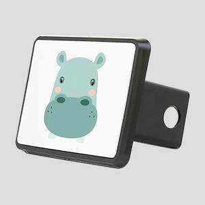 Cute Hippo Hitch Cover