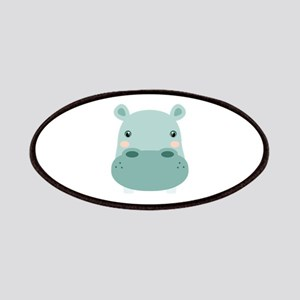 Cute Hippo Patches