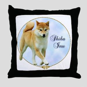 Shiba Portrait Throw Pillow