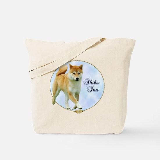 Shiba Portrait Tote Bag